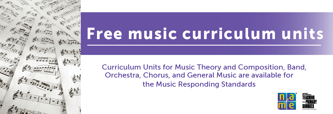 Library of Congress, curriculum, music education