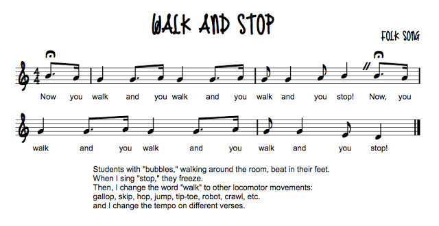 Walk and Stop