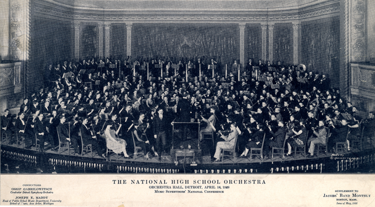 National High School Orchestra-1926