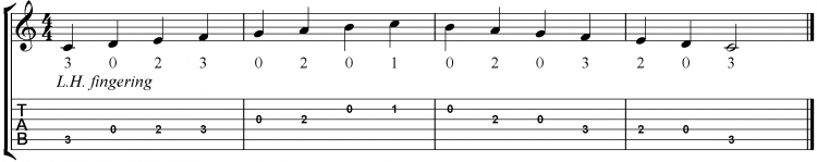 = 110 BPM using alternate im or mi fingering
