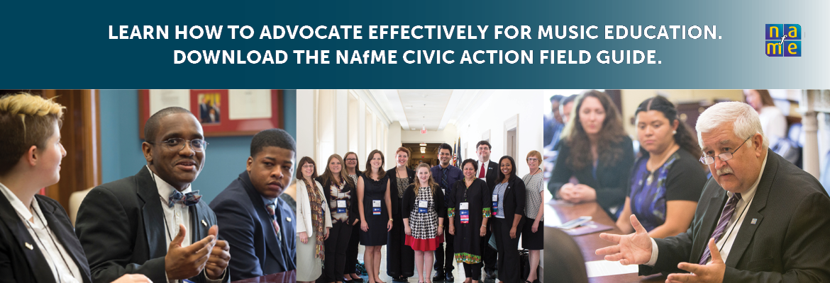 advocacy, music education, civic action