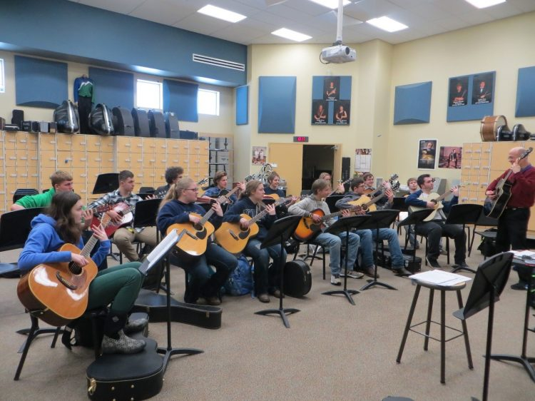 guitar students in the Treasure State Montana