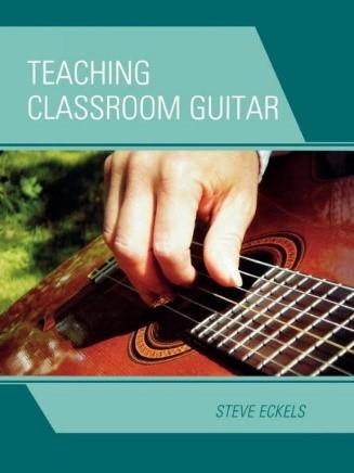 book cover for Teaching Classroom Guitar