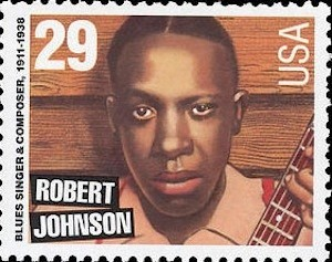 Robert Johnson US stamp