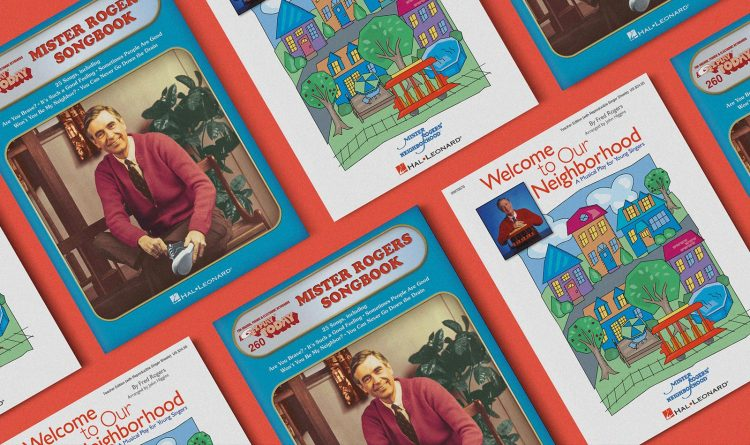 Mister Rogers' Neighborhood song books by Hal Leonard