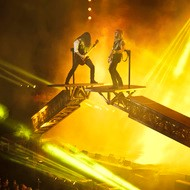 stage image from Trans Siberian Orchestra performance
