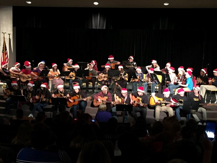 guitar holiday concert