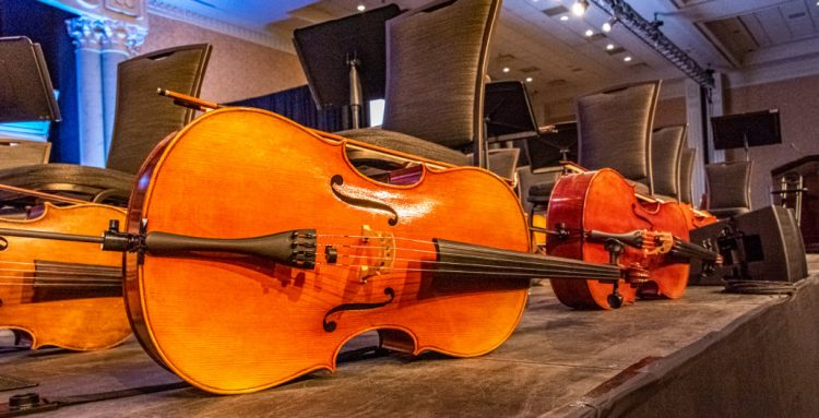 2019 ANHE orchestra basses