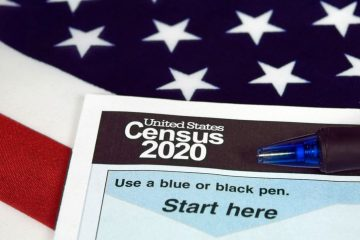 United States 2020 census form