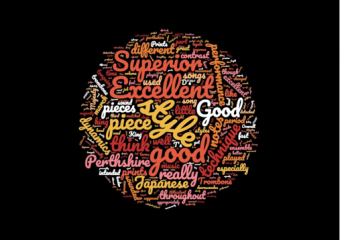 word cloud with adjudication terms