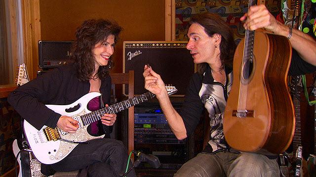 Sharon Isbin with colleague