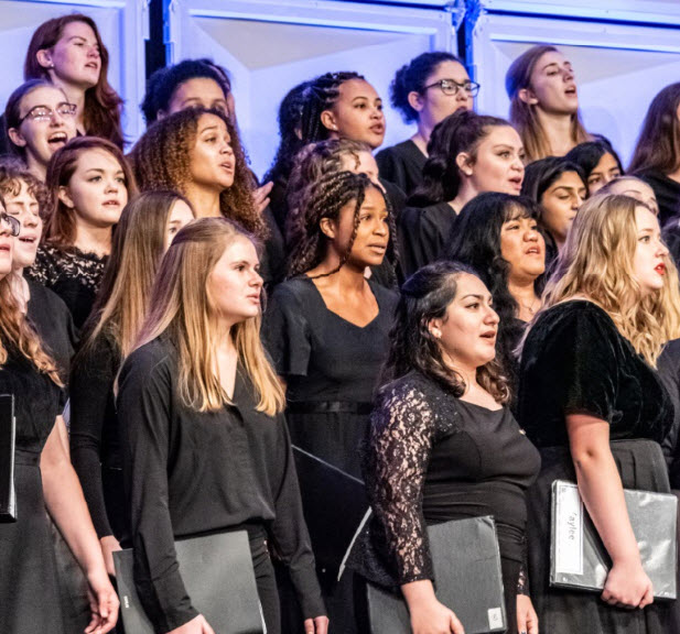 2019 ANHE Mixed Choir women