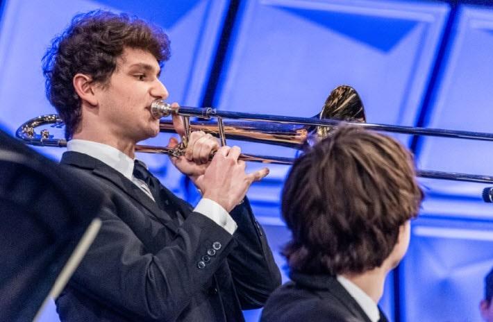 2019 ANHE trombone jazz band