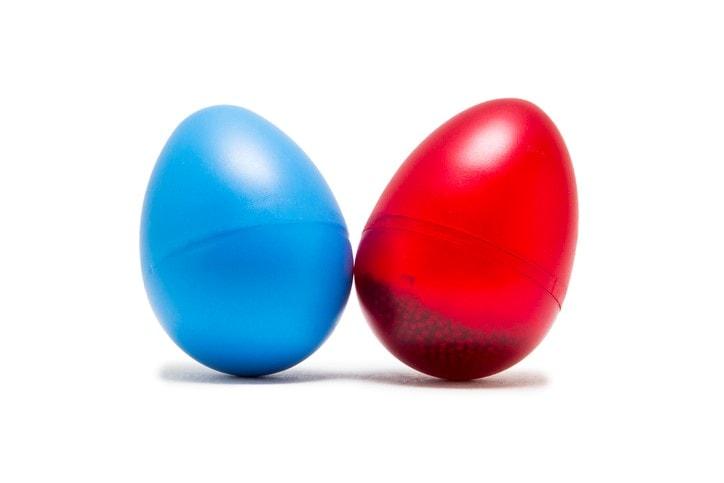 Musical egg shaker
