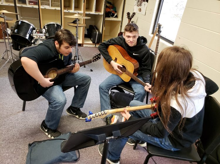 Guitar Class in the Mountain State