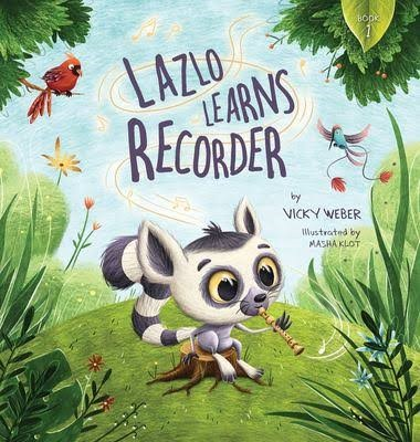 Lazlo Learns Recorder book cover
