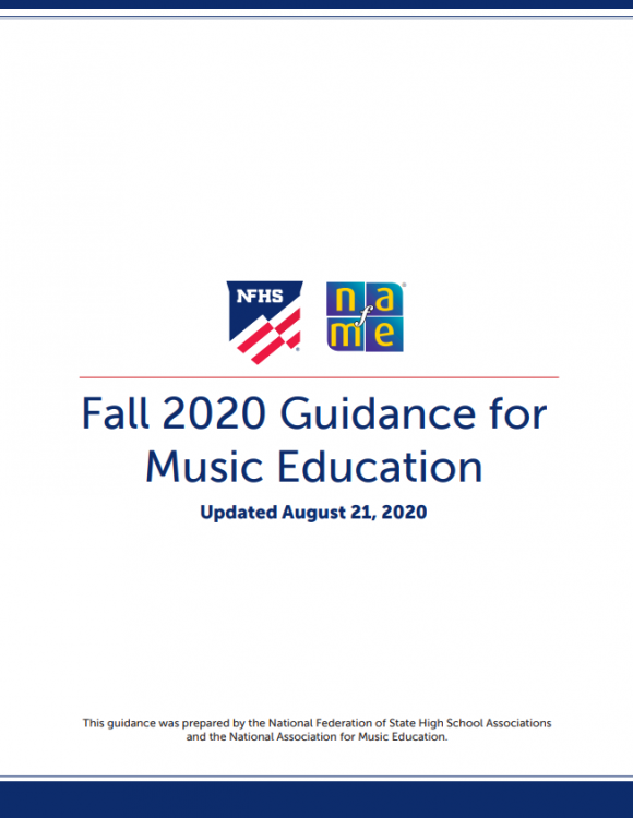 Fall 2020 Guidance cover new