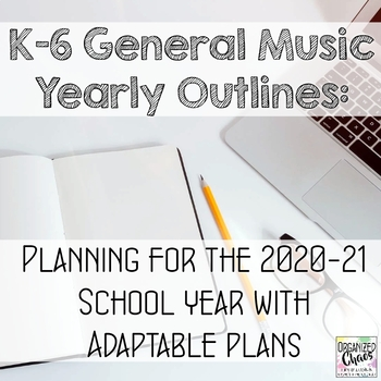 general music yearly outlines