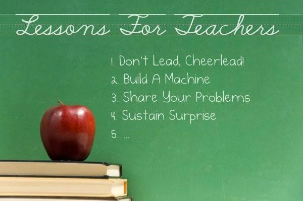 Pandemic Lessons for Teachers graphic chalkboard apple and books