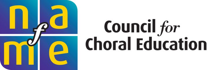 NAfME Council for Choral Education logo