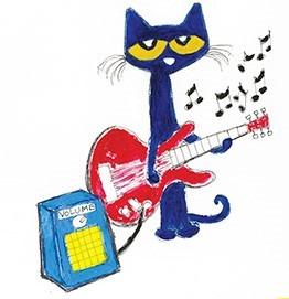 Pete the Cat illustration