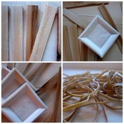 paper plate vihuela