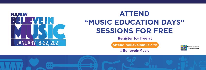 NAMM, music education, professional development