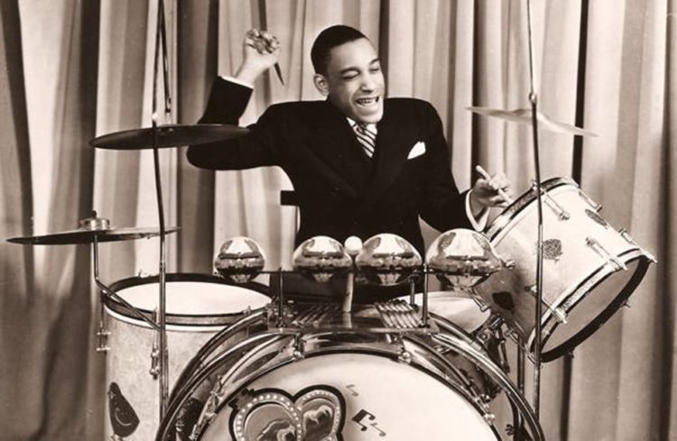 Chick Webb on drums