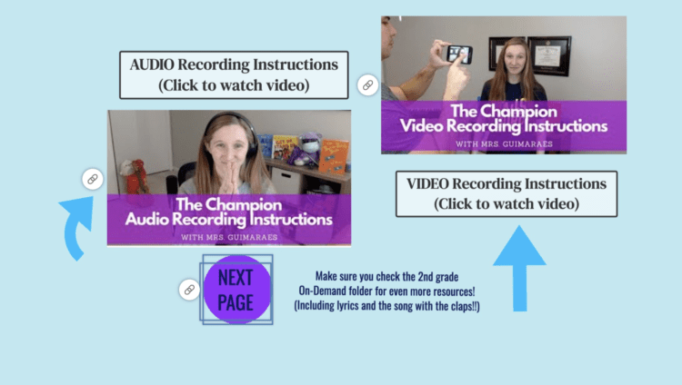 instruction videos for recording