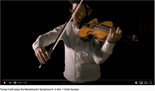 Tomas Cotik plays Mendelssohn Symphony