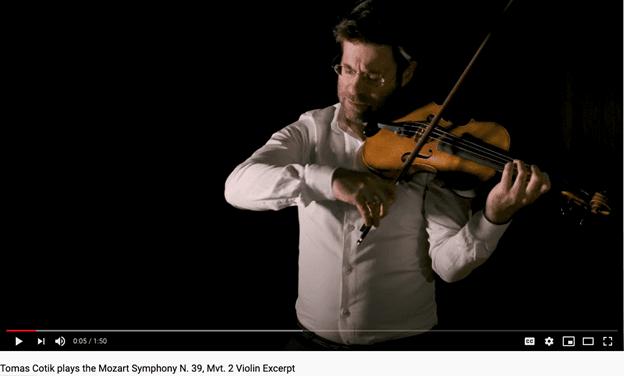 Tomas Cotik plays Mozart Symphony N. 39