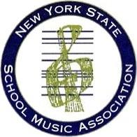 New York State School Music Association logo