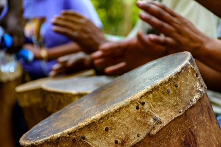 Afro-brazilian drumming
