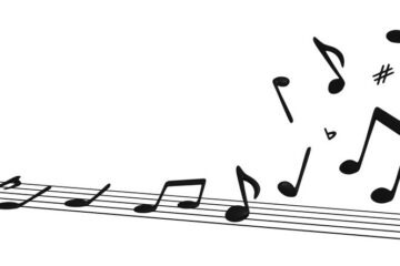 Musical Notes Lifting off Staff