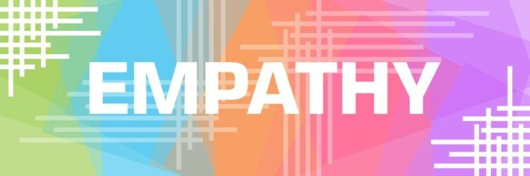 Empathy Colourful Triangles Background Lines Corner Horizontal
