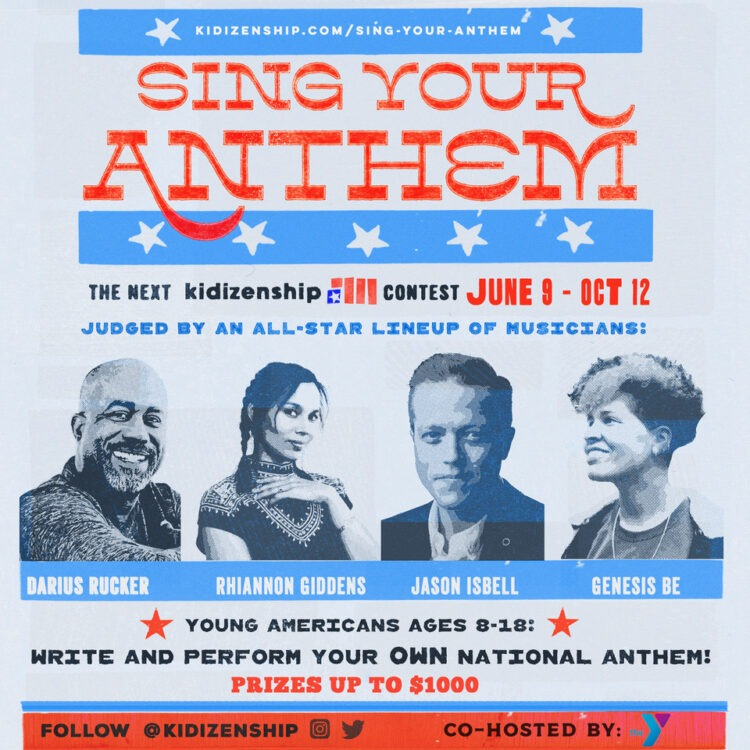 Sing Your Anthem promotion